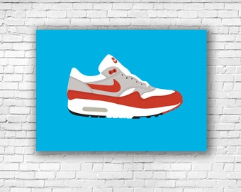 Nike Air Max 1 Illustration Print