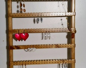 Earring Organizer, Jewelry Holder, Jewelry Stand, Jewelry Display, Jewelry Rack, Jewelry Hanger, Jewelry Organizer, Earring Holder