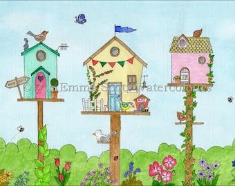Handmade whimsical birdhouses – Etsy