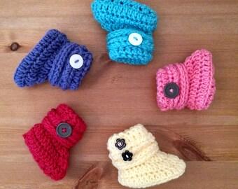 Baby Booties, Crochet Baby Booties, Baby Shoes, Baby Shower Gift, Baby Gift