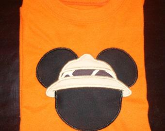 Safari Mickey or Minnie Shirt