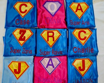Kids Super hero capes ,Children's embroidered capes,Boys Customized capes,Kids' personalized super hero capes,Wedding capes,Boys' capes