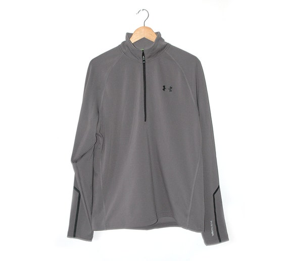 Under Armour Golf grey fleece top