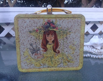 """Vintage Alladin Industries """"Junior Miss"""" Lunch Box"""