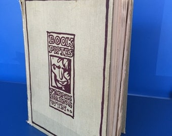 """Book Of """"Book Plate Illustrations"""""""