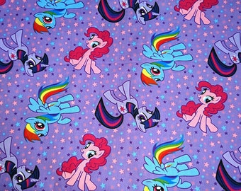 100% cotton, fabric Rainbow poolish