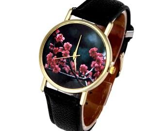 Watch watch Cherry Blossom Spring
