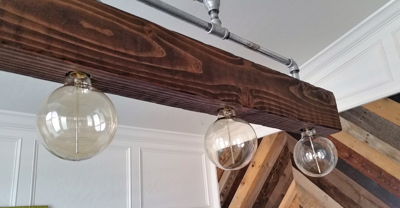 beaded farmhouse chandelier 6 light