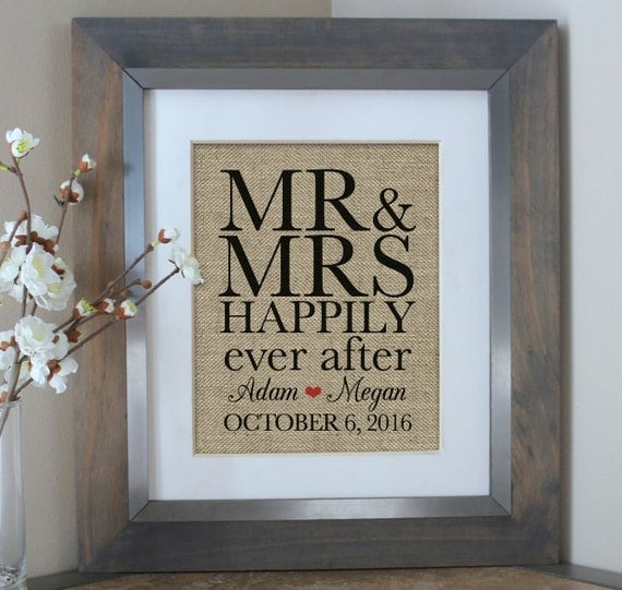 Happily Ever After Wedding Shower Gift Bridal By