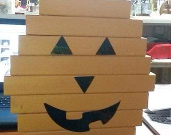 Wood Pumpkin
