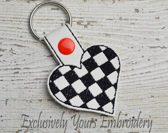 Race Flag Keychain