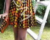 Ankara  African Print Skater Dress