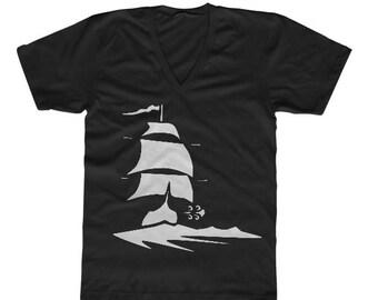 Men's Alibi Room Shirt from Shameless Black Shamrocks and