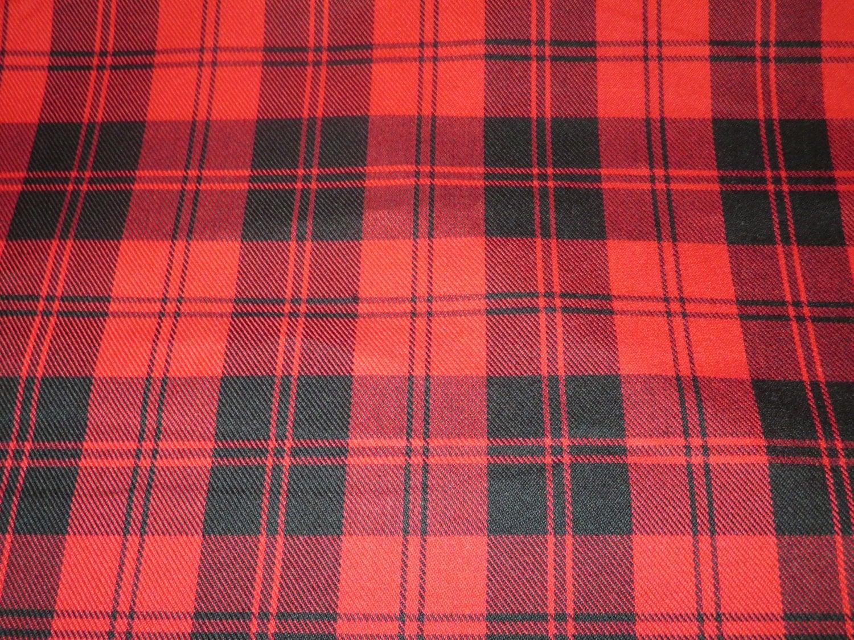 menzies red tartan fabricby yard black red tartan plaid. Black Bedroom Furniture Sets. Home Design Ideas