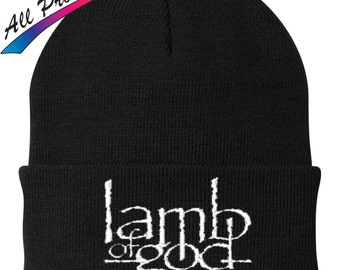 Lamb of God Beanie Metal Band Music One Size Fits Most