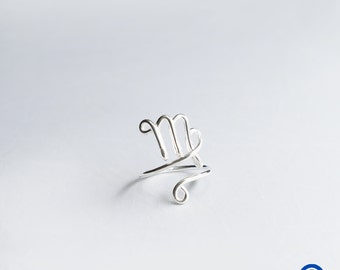 Virgo   Zodiac Rings   Horoscope Ring