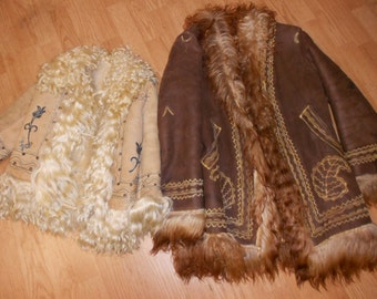 Rare and Hard to find Afghan childeren coat from the zeventies