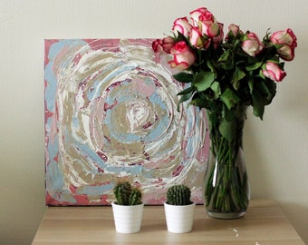 Abstract Painting|Acrylic Painting|Soft Fantasy