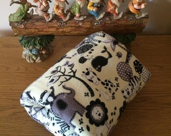 Baby Feeding Arm Cushion Jungle Fabric