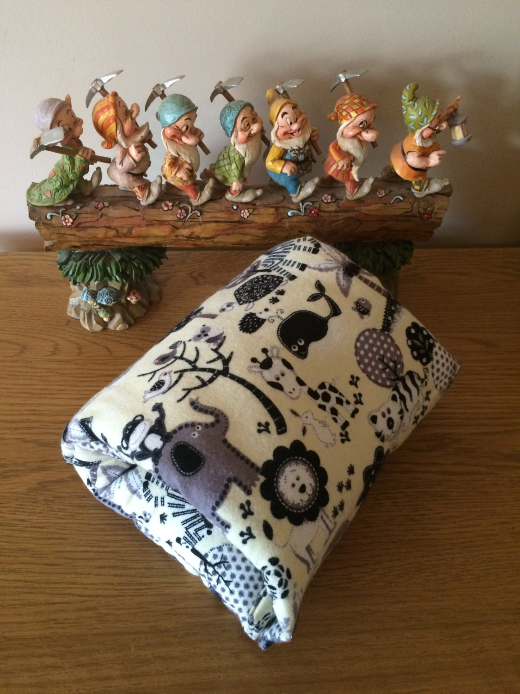 Baby feeding arm cushion jungle fabric for Baby fabric uk