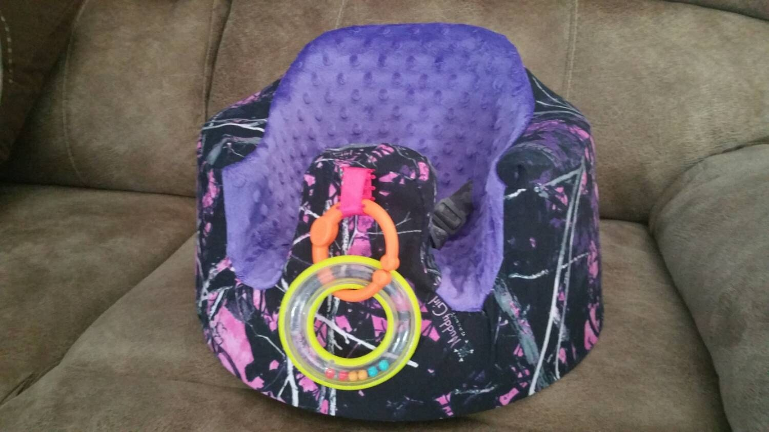 Ready To Ship Bumbo Seat Slip Cover Baby Girl Chair Cover