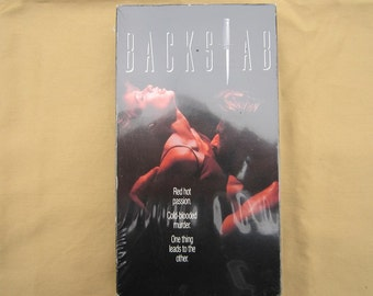 Backstab-1991 VHS Movie-Never Been Opened!