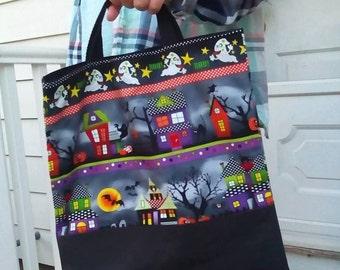 Glow in the Dark Halloween Trick or Treat Bag