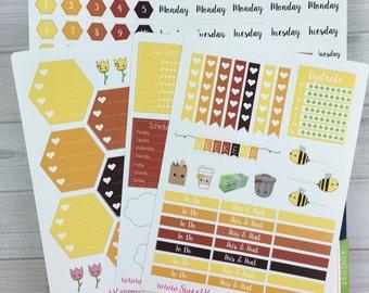 Kawaii Plan With Me - Honeycomb