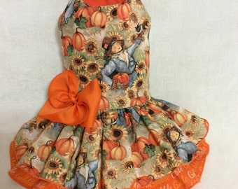 Harvest Dog Dress