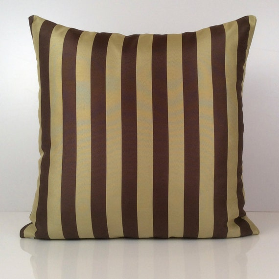 lime green and brown pillow striped pillow throw pillow. Black Bedroom Furniture Sets. Home Design Ideas