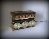 """Nixie tube clock """"Weather station"""" IN-12"""