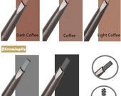 Fashion Double Rotary Automatic Eyebrow Pencil Makeup Tool, HSD-453
