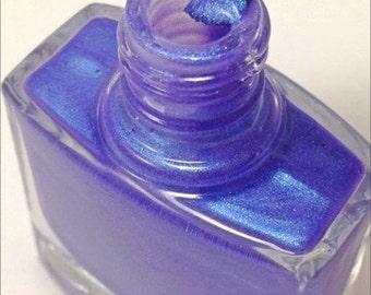 Nail Polish- Nail Lacquer- Purple Nail Polish- 5 Free Nail Polish- Confident