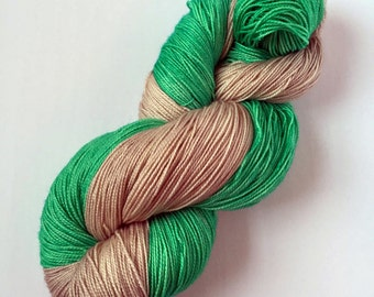 SALE - Two Color Shawl Kit - Two Skeins