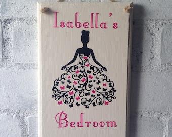 Bedroom Door Sign Etsy