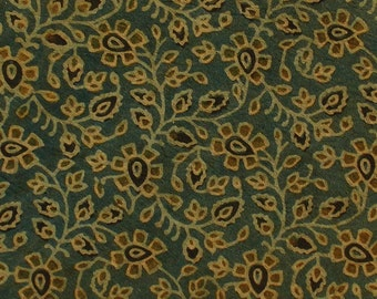 Ajrakh Fabric, Block Print Fabric, Hand Block Print Fabric, Indian Fabric, Fabric by the yard, Traditional Cotton Print Fabric