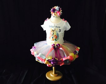 Little girls handmade Princess tutu outfit