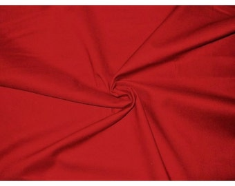 Christmas Red Broadcloth