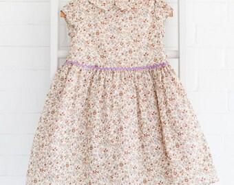 Fawn Floral Caroline Dress
