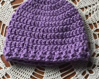 Crocheted Newborn hat
