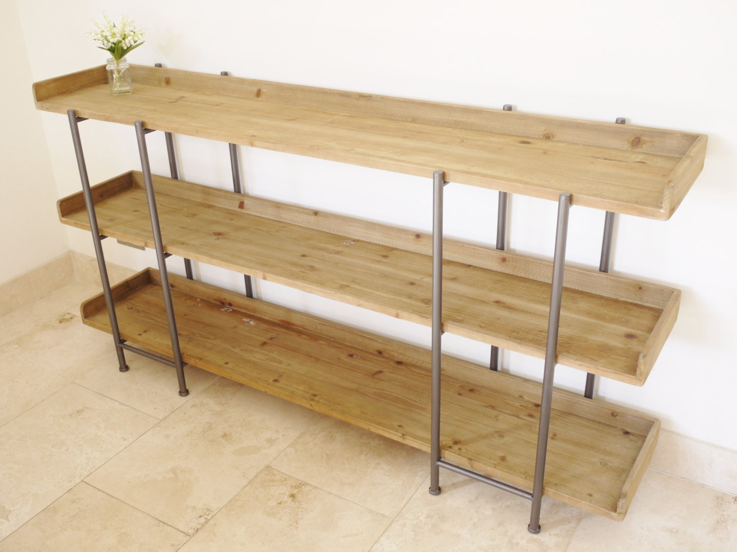 #4F5717 Solid Wood And Metal Large Industrial Shelving Unit. with 1500x1125 px of Most Effective Solid Wood Shelving Units 11251500 wallpaper @ avoidforclosure.info