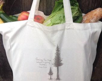 Tote Bag, Organic Tote bag, Market Bag, Shopping Bay, Boho Bag,  Reusable Bag, Original Gift,  Book Bag, Organic Bag,
