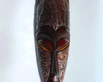 Beautiful hand-carved mask, Ghana