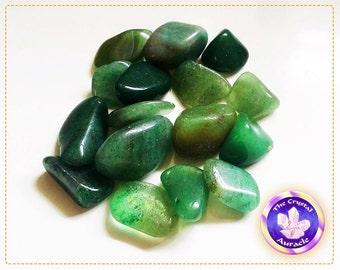 Tumbled Green Adventurine