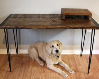 Desk, Table, Wood Desk, Home Office Desk, Office Desk, Computer Desk