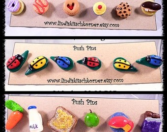 Custom Push pins, Push pins, Thumb tacks, drawing pins, CUSTOM