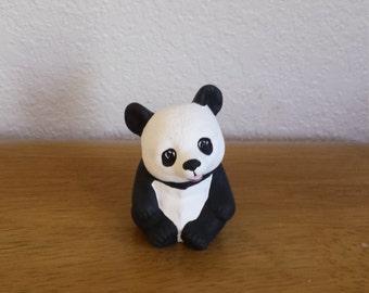 Ceramic Small Panda Bear (#389)