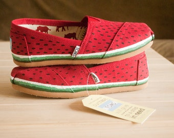 Watermelon Women's Toms