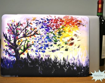 Colour TreeMacbook Case Macbook Hard Case Macbook Cover Macbook Pro Case Macbook Air Case Macbook Shell Tree Case