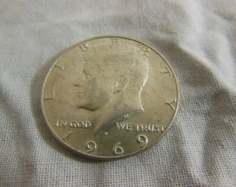 1969 Kennedy Half Dollar - D mint
